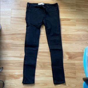 Black Super Skinny Hollister Jeans